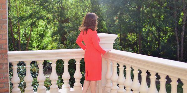 orange dress #5