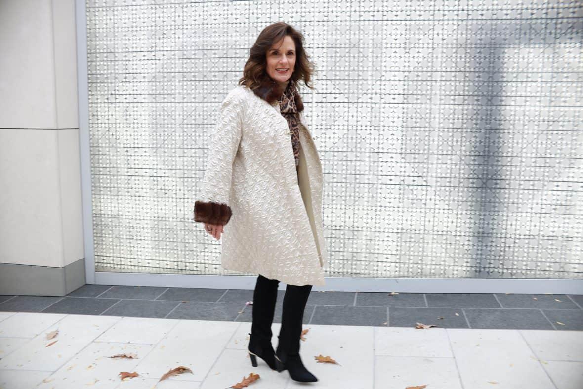 Fur Trimmed Vintage Coat Sparks Joy For Me