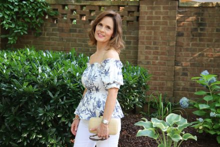 An Off the Shoulder Top: Perfect for Baring Just Enough